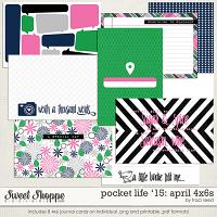 Pocket Life '15: April 4x6s by Traci Reed