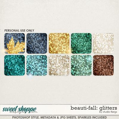 Beauti-Fall: GLITTERS by Studio Flergs