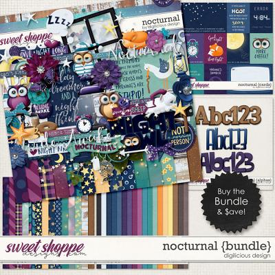 Nocturnal {Bundle} by Digilicious Design