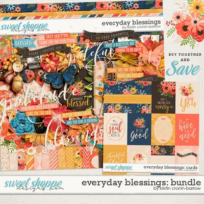 Everyday Blessings: Bundle by Kristin Cronin-Barrow