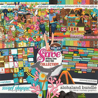 Alohaland Bundle by Clever Monkey Graphics