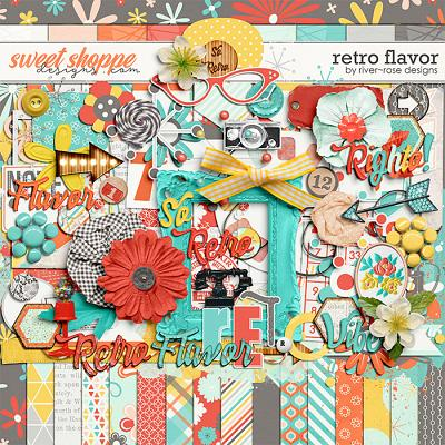 Retro Flavor by River Rose Designs