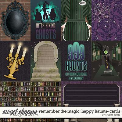 Remember the Magic: HAPPY HAUNTS- CARDS by Studio Flergs