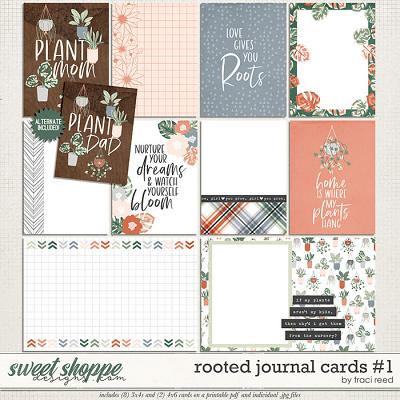 Rooted Cards #1 by Traci Reed
