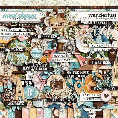 Wanderlust by Digital Scrapbook Ingredients