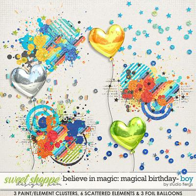 Believe in Magic: Magical Birthday BOY- SCATTERZ by Studio Flergs