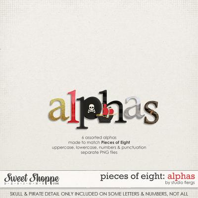 Pieces of Eight: ALPHAS by Studio Flergs