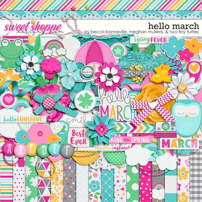 Hello March by Becca Bonneville, Meghan Mullens & Two Tiny Turtles