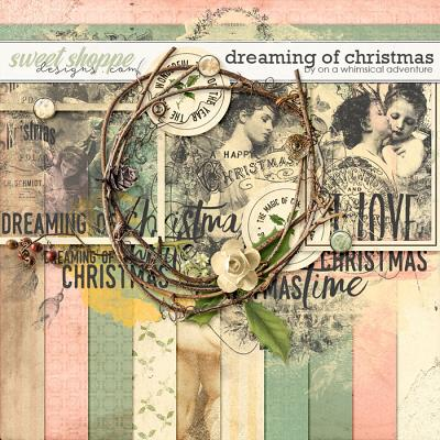 Dreaming Of Christmas Mini Kit by On A Whimsical Adventure