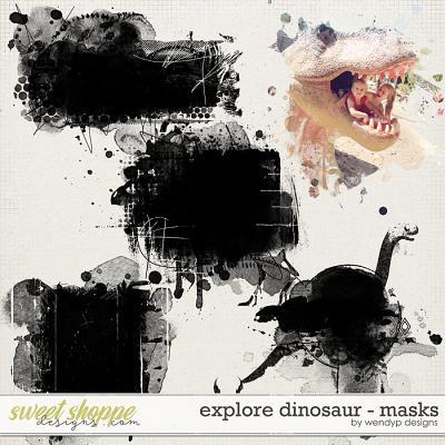 Explore dinosaur - Masks