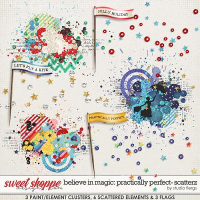 Believe in Magic: Practically Perfect SCATTERZ by Studio Flergs