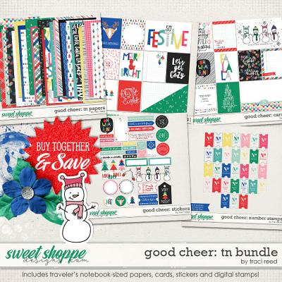 Good Cheer Traveler's Notebook Bundle by Traci Reed