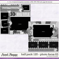 Cindy's Layered Templates - Half Pack 125: Photo Focus 63 by Cindy Schneider