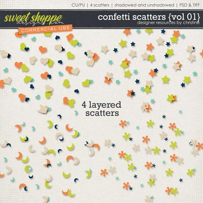 Confetti Scatters {Vol 01} by Christine Mortimer