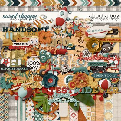 About A Boy {Kit} by Digilicious Design