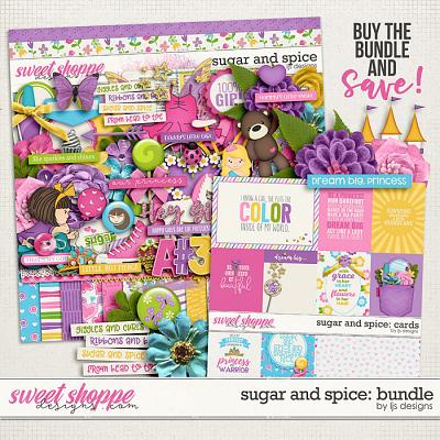 Sugar and Spice: Bundle by LJS Designs