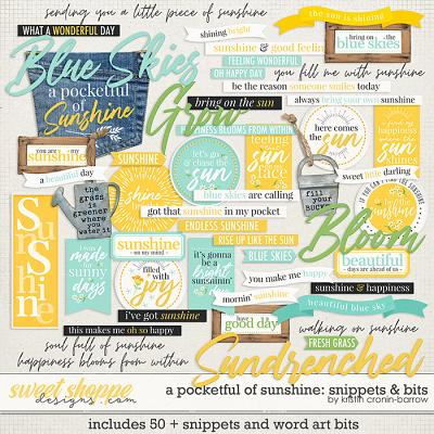 A Pocketful of Sunshine: Snippets and Bits by Kristin Cronin-Barrow