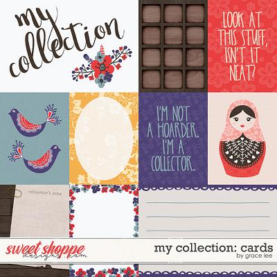 My Collection: Cards by Grace Lee