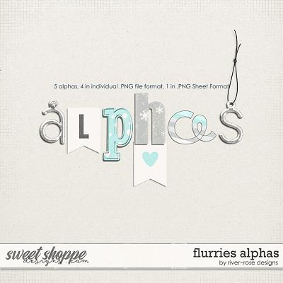 Flurries Alphas by River Rose Designs