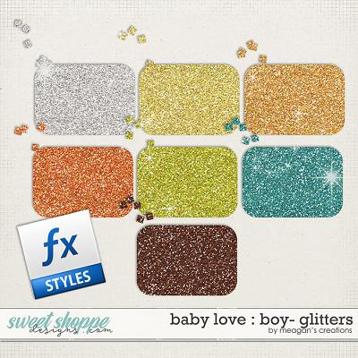 Baby Love {Boy} : Glitters by Meagan's Creations