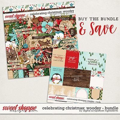 Celebrating Christmas: Woodsy Bundle by Digital Scrapbook Ingredients