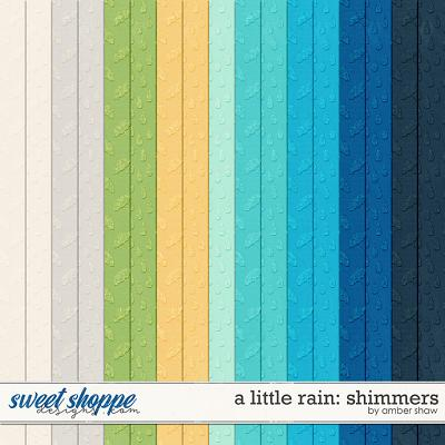 A Little Rain: Shimmers by Amber Shaw