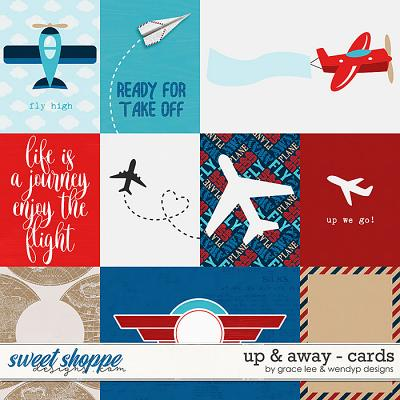 Up & Away: Cards by Grace Lee and WendyP Designs