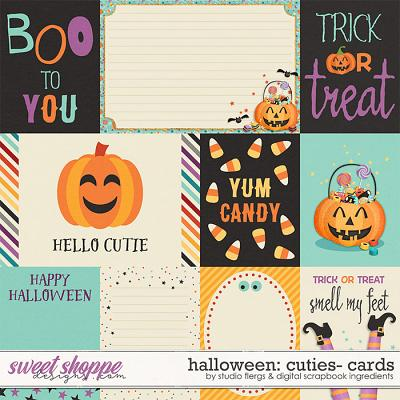 Halloween Cuties | Cards by Studio Flergs & Digital Scrapbook Ingredients