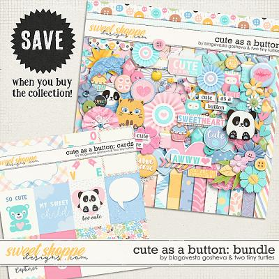 Cute As A Button :: Bundle by Blagovesta Gosheva & Two Tiny Turtles