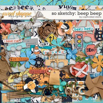 So Sketchy: Beep Beep by Captivated Visions