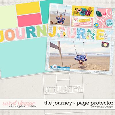 The Journey: Page protector by WendyP Designs