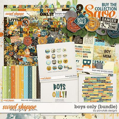 Boys Only Bundle by Ponytails