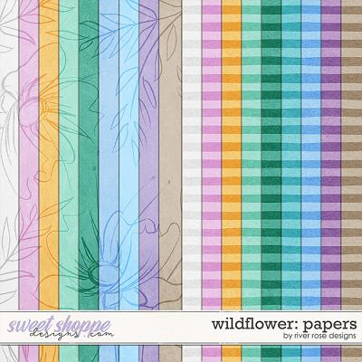 Wildflower: Papers by River Rose Designs