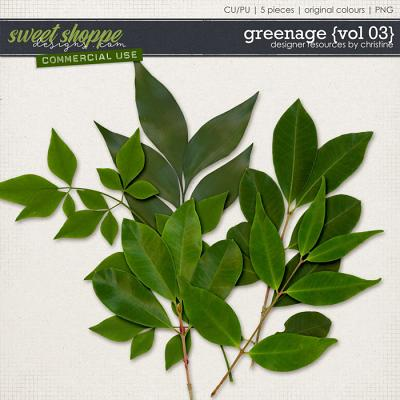 Greenage {Vol 03} by Christine Mortimer