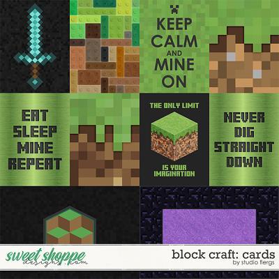 Block Craft: CARDS by Studio Flergs
