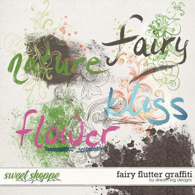 Fairy Flutter Graffiti by Dream Big Designs