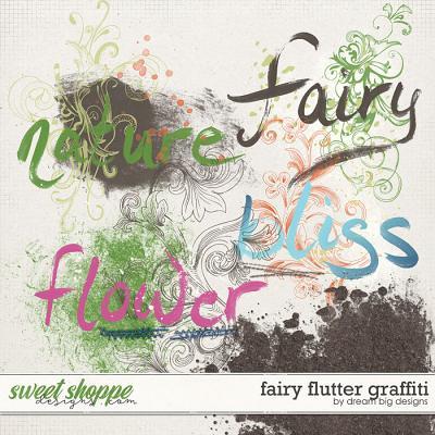 Fairy Flutter Graffiti by Dream Big Designs