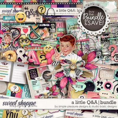 A Little Q&A Bundle by Simple Pleasure Designs and Studio Basic