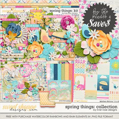 Spring Things: Collection + FWP by River Rose Designs
