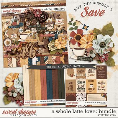 A Whole Latte Love: Bundle by Amber Shaw