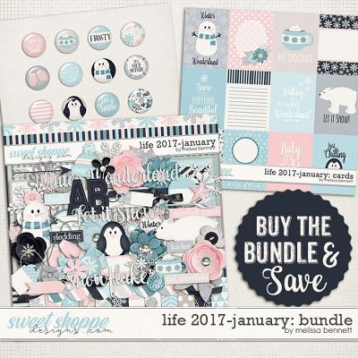 Life 2017-January Bundle by Melissa Bennett
