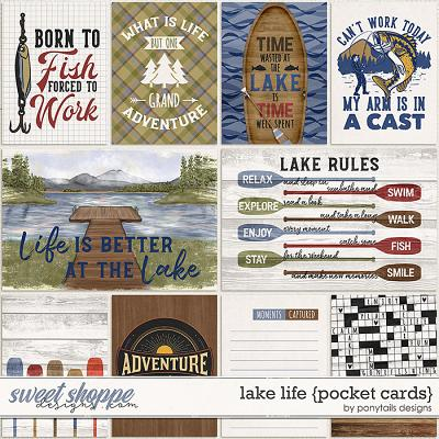 Lake Life Pocket Cards by Ponytails