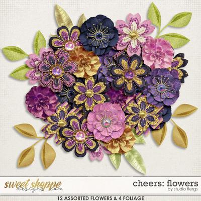 Cheers: FLOWERS by Studio Flergs
