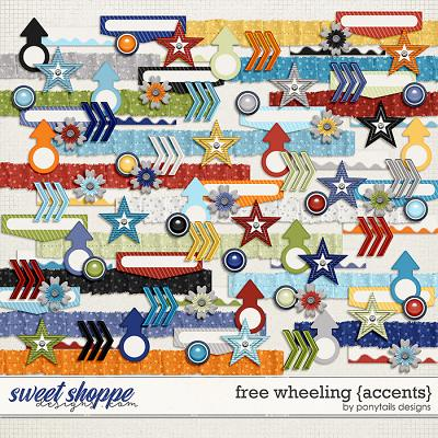 Free Wheeling Accents by Ponytails