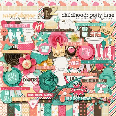 Childhood: Potty Time by Heather Roselli & Sugary Fancy
