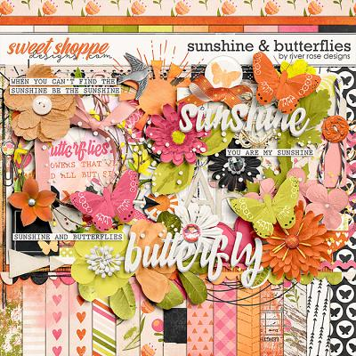 Sunshine & Butterflies: Kit by River Rose Designs