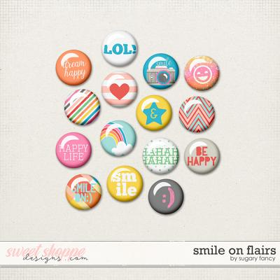 Smile On Flairs by Sugary Fancy