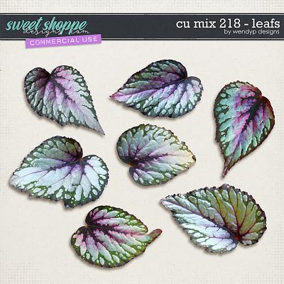 CU Mix 218 - leafs by WendyP Designs