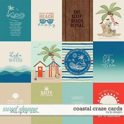 Coastal Craze Cards by LJS Designs