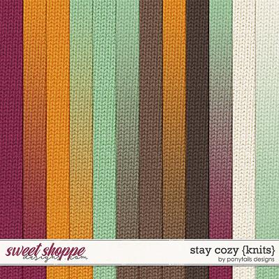 Stay Cozy Knits by Ponytails